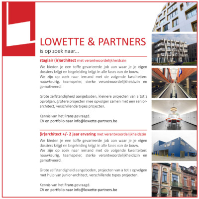 Lowette & Partners architects